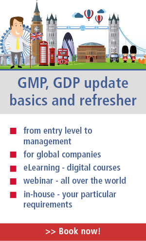 Do you need a refresher in GMP or GDP compliance work? Click here!
