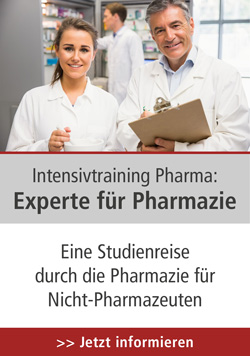 Intensivtraining Pharma: Experte für Pharmazie, 31.08.-02.09.2021 in CH-Olten