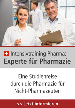 Intensivtraining Pharma: Experte für Pharmazie, 27.-29.08.2019 in CH-Olten